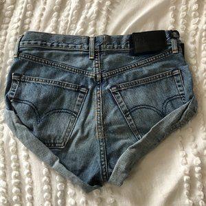 One Teaspoon Shorts - One Teaspoon Vintage Middie Bandit Jean Shorts NWT